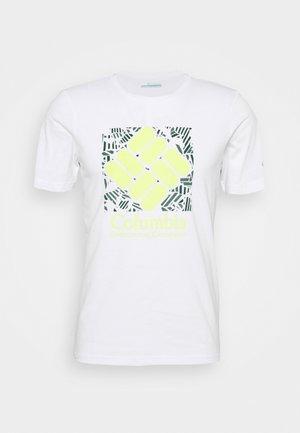 RAPID RIDGE™ GRAPHIC TEE - T-shirt con stampa - white frondtastic