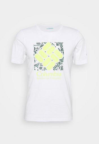 RAPID RIDGE™ GRAPHIC TEE - Print T-shirt - white frondtastic