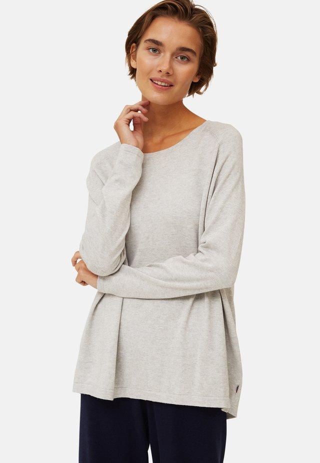Pullover - gray melange