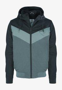 Mazine - DUNS - Light jacket - black/bottle - 3