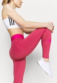 adidas Performance - ADILIFE - Tights - berry - 3