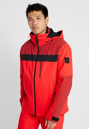 DAMIAN - Kurtka snowboardowa - orange/red