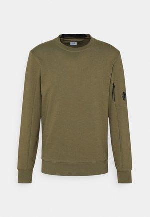 DIAGONAL RAISED - Sweatshirt - olive