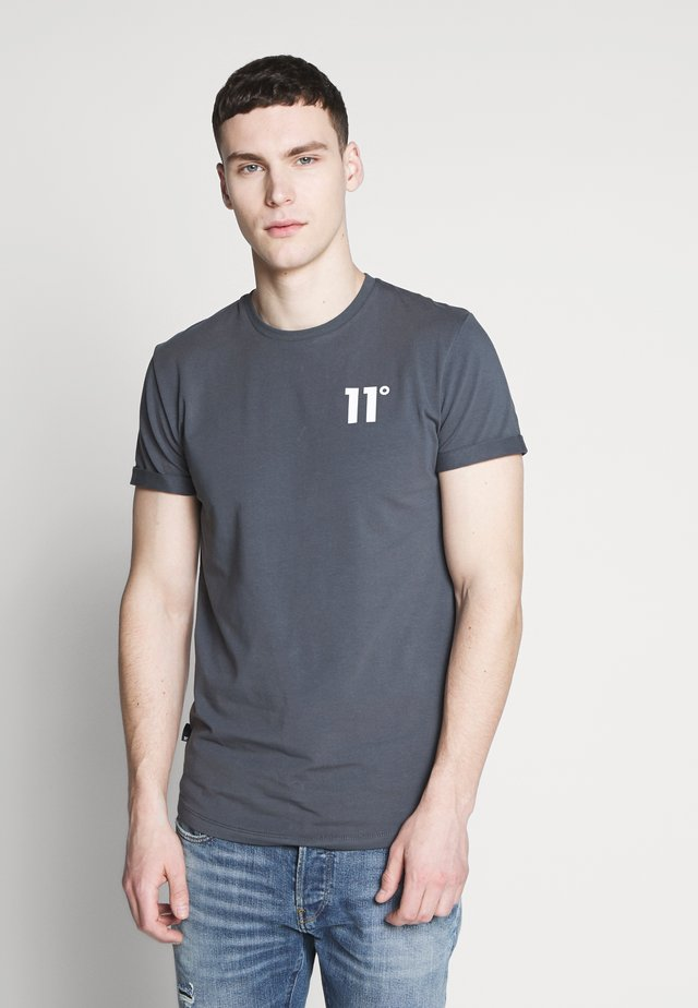 CORE MUSCLE FIT - T-shirt imprimé - anthracite