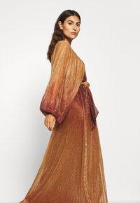 InWear - GIZELA DRESS - Suknia balowa - cayenne ombre - 3