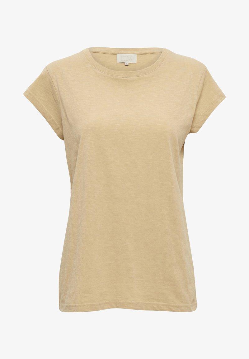 Minus - LETI - Basic T-shirt - warm sand