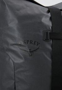 Osprey - TRANSPORTER ROLL - Rucksack - black - 6