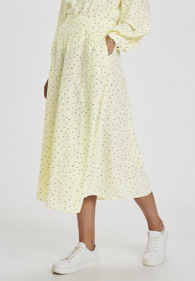 A-snit nederdel/ A-formede nederdele - afterglow dot print