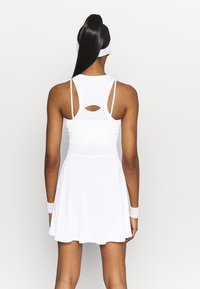 Nike Performance - ADVANTAGE DRESS - Abbigliamento sportivo - white/black - 2