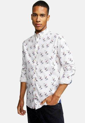 LANGARM - Overhemd - weiß