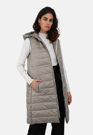 MAGGY - Waistcoat - taupe