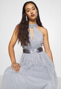 TFNC - ULA - Společenské šaty - grey blue - 5