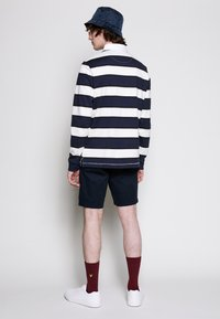 Lyle & Scott - STRIPED RUGBY RELAXED FIT - Piké - dark navy - 2