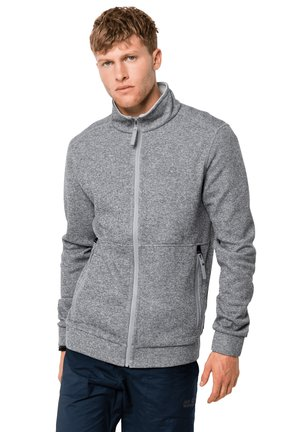 Fleece jacket - slate grey