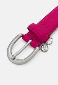 Lauren Ralph Lauren - CROSSHATCH CHARM CLASSC - Pásek - nouveau bright pink - 3