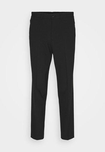 SLHSLIMTAPERED JAMES - Pantaloni eleganti - black
