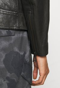 Belstaff - RACER JACKET - Leather jacket - black - 7
