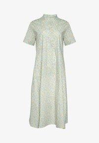 Noella - Maxi dress - yellow blue flower - 3