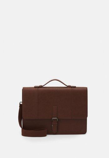 UNISEX - Across body bag - brown