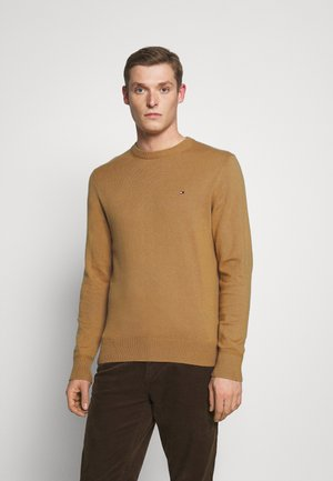 PIMA CREW NECK - Pullover - brown