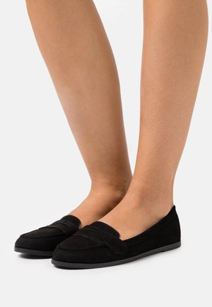 LAURA LOAFER - Mocasines - black
