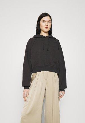 BUBBLE HOODY - Sweatshirt - black