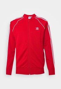 adidas Originals - UNISEX - Training jacket - scarle/white - 0