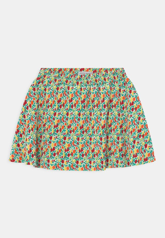 SMALL GIRLS  - Mini skirt - tomato puree