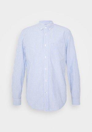BUTTON DOWN HEATHER STRIPE SHIRT - Shirt - blue/white