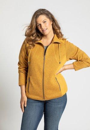 Fleece jacket - senf