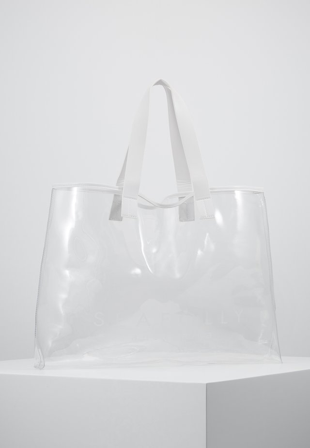 CARRIED AWAY TOTE - Ranta-asusteet - clear