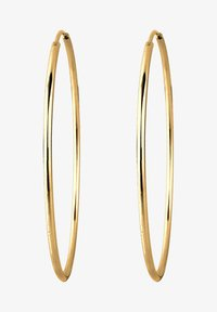 HOOPS BASIC - Earrings - gold-coloured