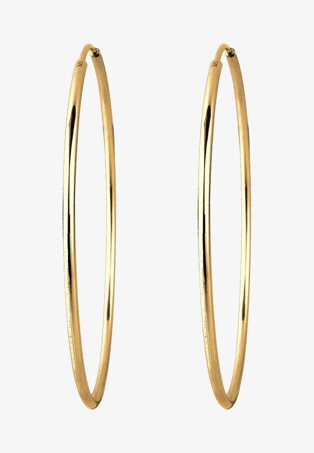 CREOLEN BASIC KLASSISCH  - Boucles d'oreilles - gold-coloured