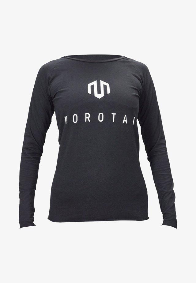 T-shirt à manches longues - black