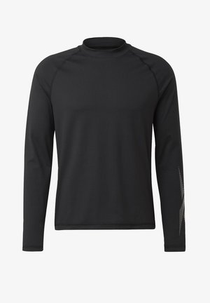 THERMOWARM TOUCH GRAPHIC BASE LAYER LONG-SLEEVE TOP - T-shirt à manches longues - black