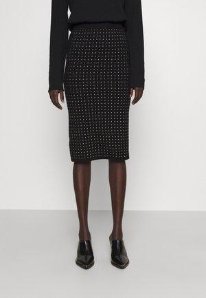 EXTRADRY GONNA MANO CALDA - Pencil skirt - black