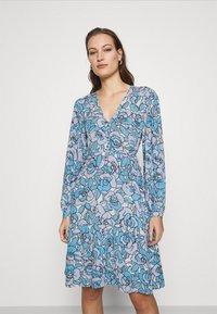 Fabienne Chapot - LOLA DRESS - Day dress - lavender/warm white - 0