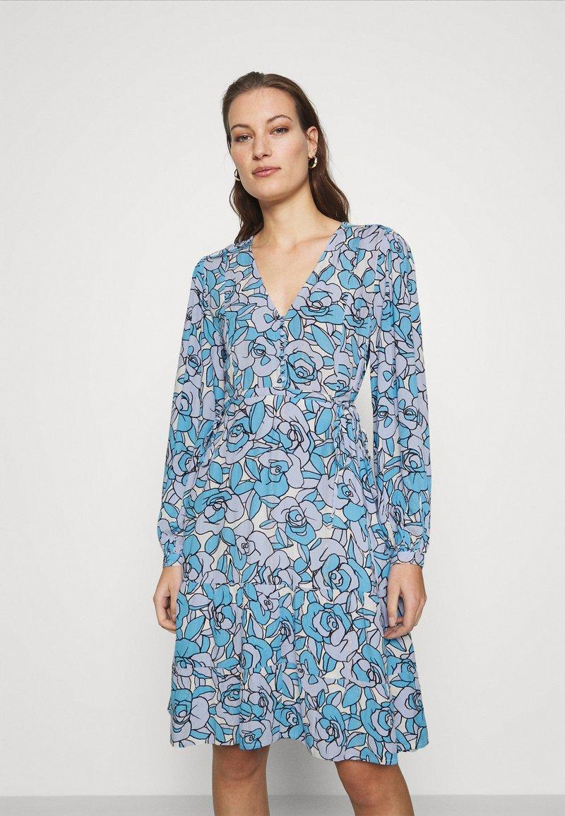 Fabienne Chapot - LOLA DRESS - Day dress - lavender/warm white