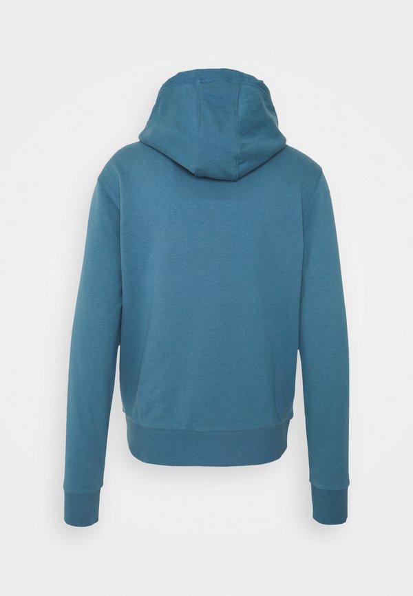 Calvin Klein LOGOHOODIE - Bluza - blue/niebieski Odzież Męska UMBA