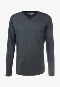 Shine Original - DYED AND WASHED OUT TEE - Langarmshirt - dusty black - 3