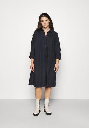 KCANICA SHIRT DRESS - Shirt dress - midnight marine