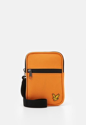 SMALL MESSENGER UNISEX - Across body bag - risk orange