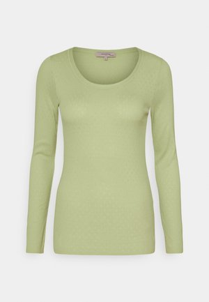 ESSENTIAL NEW POINTELLE - Long sleeved top - lint