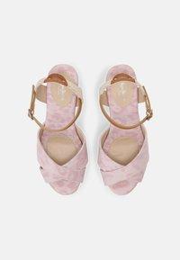 Pepe Jeans - MAIDA ANY - Platform sandals - pink - 4
