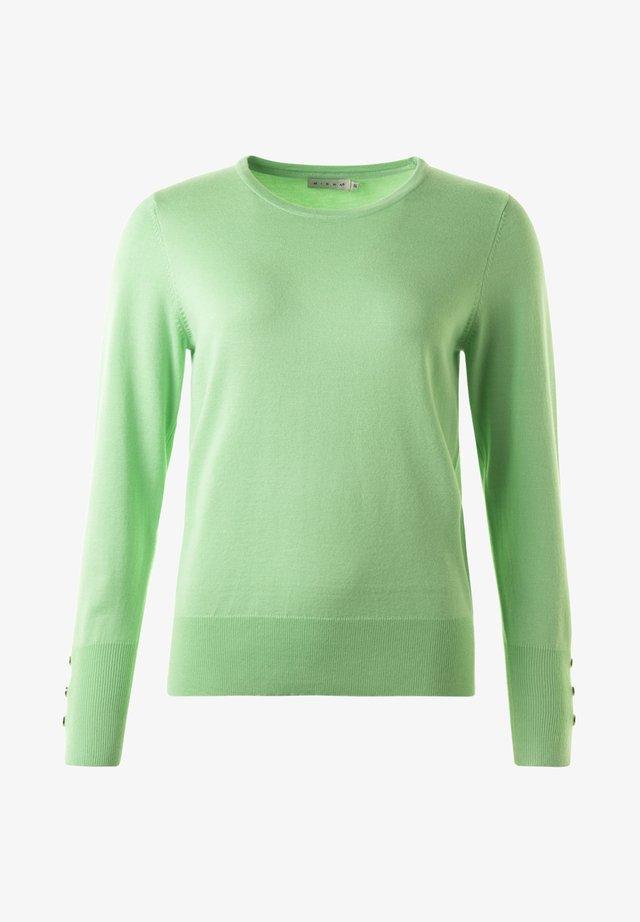 Stickad tröja - 7232 spring green