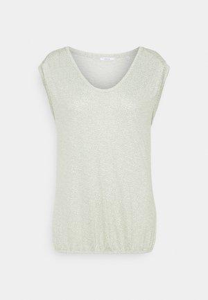 STROPI ROS - T-shirt z nadrukiem - pistachio