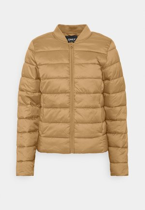 ONLSANDIE QUILTED JACKET - Lehká bunda - toasted coconut