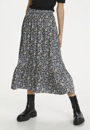 A-line skirt - total eclipse flora print