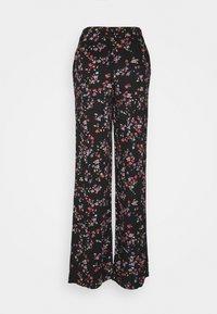 PIECES Tall - PCLALA WIDE PANTS - Pantaloni - black - 1