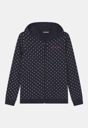 NKFLOUISA - Zip-up hoodie - dark sapphire